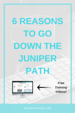 6 Reasons to go down the Juniper path