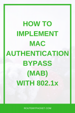 MAB: Mac Authentication Bypass on 802.1x